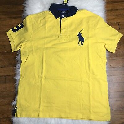 NWT polo Ralph Lauren #08P Rugby Large Pony Polo Shirt SZ L Large