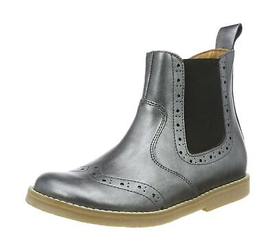 Froddo Girls Chelsea Boot G3160100-9 8 UK Silver Silver I12