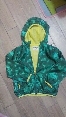 Giacca a vento-kway KIDKIND 4-5anni,unisex.NUOVO