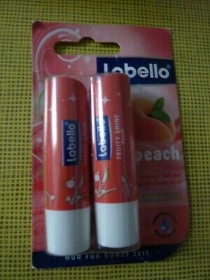 labello  Duo Packige Peach fruity Shine
