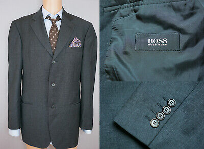 Men Hugo Boss Blazer Jacket Einstein/Sigma Wool Blend L IT50 US UK 40 QAA275