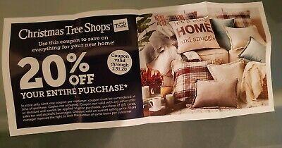 ➡️ CHRISTMAS TREE SHOPS  20% OFF ENTIRE  purchase FAST SHIP! Exp. 1/31/20