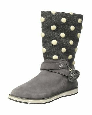 Geox Girls' Jr Noha a Ankle Boots 6.5 UK Child Grey Grey C1006