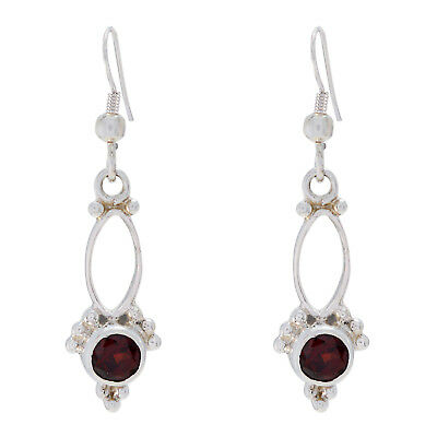 grand Garnet 925 Sterling Silver Red Natural Jaipur US gift