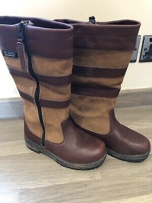 Girl Brown Kanyon Boots Size 1