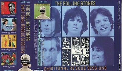 The Rolling Stones / Emotional Rescue Sessions / 3CD With OBI STRIP / Sealed!