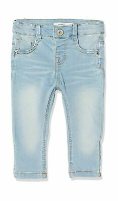Name IT NOS Baby Boys' Jeans 56 Blue (Light Blue Denim Light Blue Denim)