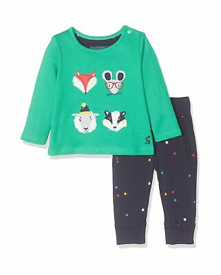 Joules Baby Boys' Byron Clothing Set 3-6 Months Green (Green Faces Greenfaces)