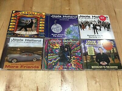 Jools Holland 6 CD Bundle, all listed below, Free UK Postage
