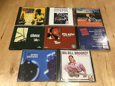 Blues 8 CD Bundle, all listed below, Free UK Postage