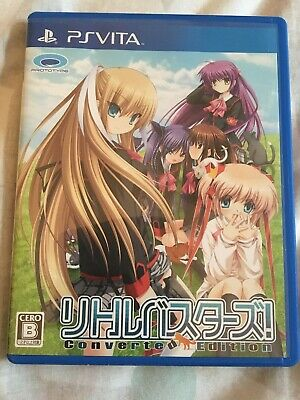 PS Vita Little Busters! Converted Edition