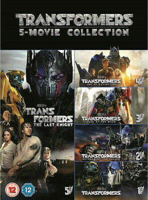 Transformers 5 Movie Collection (DVD, 2017, 6-Disc Set)