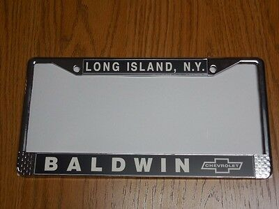 Baldwin Motion Chevrolet  License Plate Frame   Chevelle, Nova, Camaro,