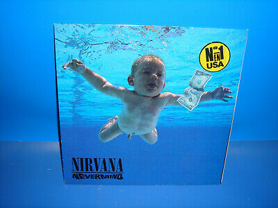 Disco Lp vinilo - Nirvana ‎– Nevermind   -1991 - spain