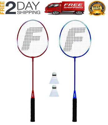 Two Player Metal Badminton Set