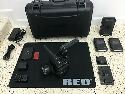 Red Dsmc2 Dragon X 5K S35 Unified Camera Huge Kit, Lcd, Lens, Lcd,Upgraded To 6K