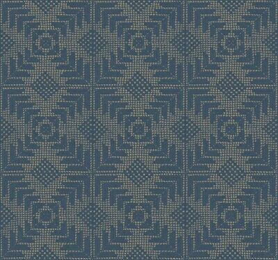 Aviva Stanoff YORK 'Tribe' Wallpaper VA1205 $150 MSRP  9 Dbl Rolls Available!