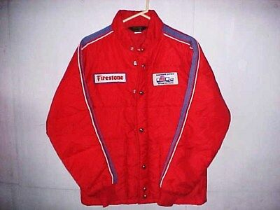 Parnelli Jones Firestone Indy Pit Rundhals Racing Jacke