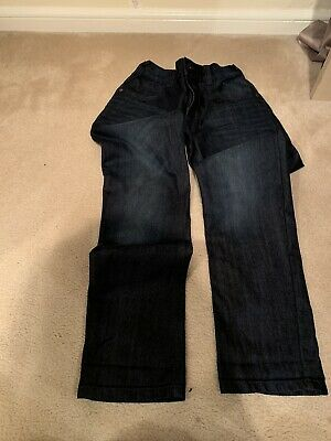 Bluezoo Twisted Leg Jeans Age 12