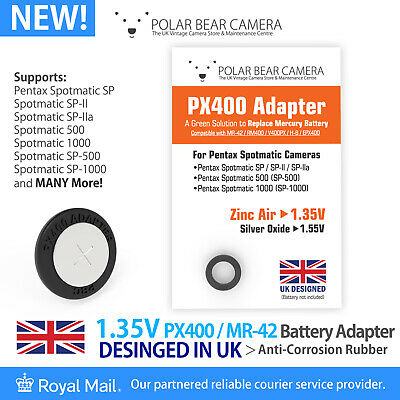 1.35V PX400 MR-42 RM400 H-B MRB400 Adapter Only For Spotmatic SP Camera UK