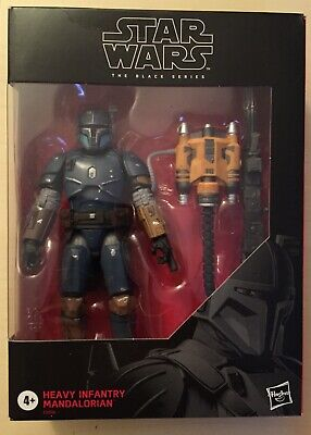 Hasbro Star Wars The Black Series, Heavy Infantry Mandalorian, Brand New Sealed!