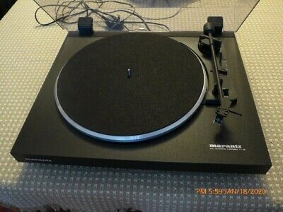 Marantz TT42 Turntable -- Nice Condition with Orig Box and Manual