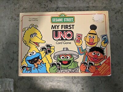 My First UNO Card Game Vintage 1991 Complete in Original Box