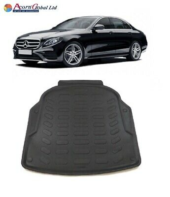 TO FIT MERCEDES E CLASS 2016 - 2019 W213 Tailored rubber boot mat BOOT LINER