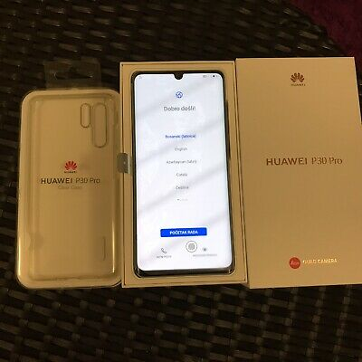 Huawei P30 Pro Colour Breathing Crystal (Unlocked) Memory 128GB / RAM 8GB Mint