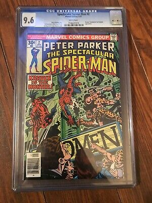 Peter Parker The Spectacular Spider-Man 9.6 Cgc #2 Kraven Appearance