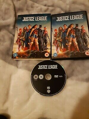 Justice League (DVD, 2018) with slipcase.
