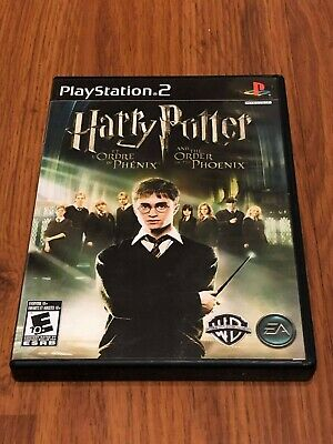 Harry Potter and the Order of the Phoenix (Sony PlayStation 2, 2007) No Manuals