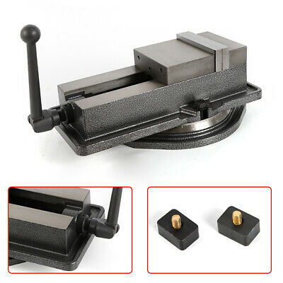 """5/"""" Non-Swivel Milling Lock Vise Bench Clamp Precision Drilling CNC 24KN HOT"""