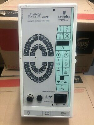 Trophy CCX Digital Computer Controlled Dental X-Ray Timer