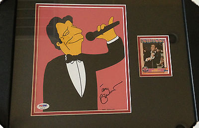 Tony Bennett Signed Autographed 8X10 Photo Psadna Certified The Simpsons Rare