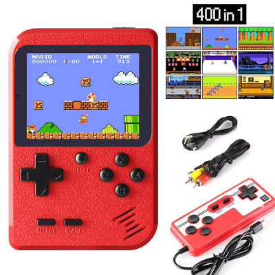 JAMSWALL Handheld Game Console, Retro Mini Player with 400 Classical FC Games 2.