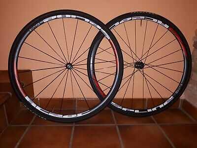 Set Ruedas DT SWISS RC28 C Shimano 10-11 speed carbon clincher cubierta