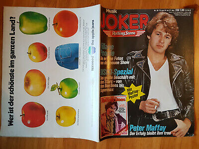 MUSIK JOKER Nr. 10 von 1979 PETER MAFFAY NEIL YOUNG BEE GEES SUPERMAX