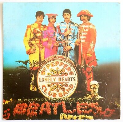 'SGT PEPPER / A DAY IN THE LIFE', Beatles. Parlophone R 6022.
