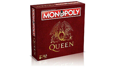 Monopoly Queen Collector Edition Board Game special edition Hasbro/Winning Moves