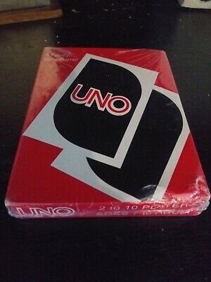 Vintage UNO Family CARD GAME w/ Rules COMPLETE NIB- Sealed
