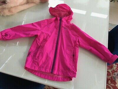 Mountain Warehouse Waterproof  jacket kids Girls Pink Age 5-6
