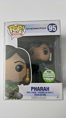 Funko POP! Games Overwatch Pharah Emerald #95 ECCC 2017 Shared *PROTECTOR