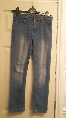 Boys Slim Fit Jeans Denim Co 10-11 Years Good Condition