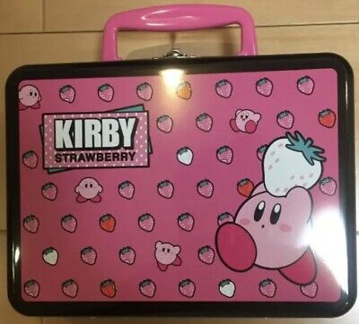 Kirby of the Stars KIrby VERY STRAWBERRY BANDAI NAMCO Snack Trunk Can Case Bag