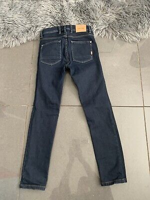 Paul Smith Boys Skinny Jeans Stretch Fitted Dark Blue Age 10 Vgc