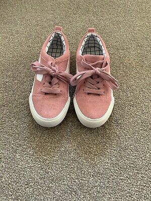 girls pink trainers size 13. Next