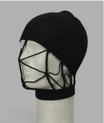 RARE RICK OWENS MOHAIR NET BEANIE ONE SIZE nwot
