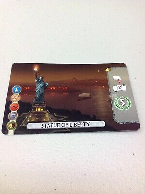 7 Wonders Duel - Statue of Liberty Brand New and MINT Promo Card!