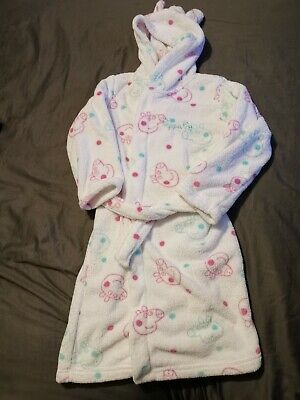 Girls Peppa Pig Dressing Gown Age 7-8 Years